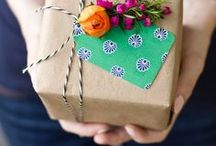 Wrap it up / Creative & Crafty Ideas for Gift Wrapping / by Erin Freedman