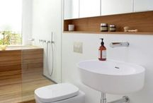 bathroom/laundry / by Fiona Tchan