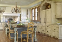Dream Kitchen and Dining / Kitchens, pantries, dining rooms, wine cellar, storage and organization, oh my! / by Maggie Bee