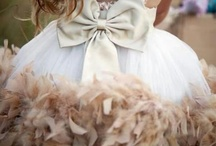 Pretty Little Flower Girls / Attire for pretty little flower girls! / by Latisha w/ SimoneEliseEvents