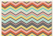 Chevron Designs / Visit us at http://www.acherryontop.com / by A Cherry On Top Crafts