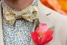 Groom Styling / Inspiration and Ideas - from suits to shoes, bow ties to sock, find lots of gorgeous ideas for styling your groom / by Little Lovely Things