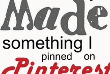 pintrest stuff that I've actually bought, eaten, read, made, tried etc.... / by Pam Reidhead