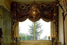 Beautiful Curtains,Drapes / by Erica Castillo