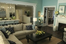 Home- living rm ideas / by Nicole Ballard