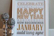 January - Happy New Year! / by Jennifer King