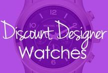 Affordable Fashion: Designer Watches / Michael Kors, Betsey Johnson, Coach and many other designer watches are just a handful of watches that you can find on BuyNowOrNever.com. Find wrap watches, boyfriend style watches and silicone watches.  / by BuyNowOrNever.com- Handbags, Scarves, Watches & Home Decor