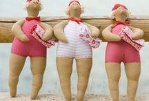 Sewing: Tilda Dolls / by Judith Baer