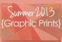 SUMMER TREND {Graphic Prints} / Part of our summer 2013 trends series, graphic prints and bold colors are catching eyes and breaking hearts. Adding this vivid trend into your wardbrobe and home decor will make a big statement! View full posts at www.buynowornever.com/blog / by BuyNowOrNever.com- Handbags, Scarves, Watches & Home Decor