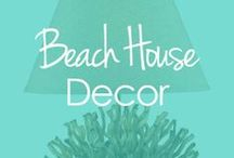 Beach House Decor / Whether you are fortunate enough to own a place on the beach, or you just want to decorate your own home with coastal pieces, there's no better place to find good deals.  / by BuyNowOrNever.com- Handbags, Scarves, Watches & Home Decor