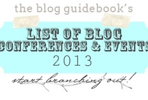 Blog Events / When we find blogging events that look amazing, we'll pin them right here for you to find / by BlogGuidebook