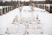 Winter Wedding / by B Wedding Invitations
