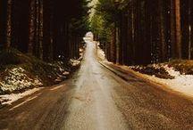 ideas - roads / by Samantha Cooper
