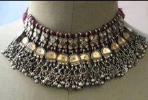EJ | South Asia | Necklaces and Pendants / For Pinterest purposes this region includes India, Sri Lanka, Bangladesh and Pakistan. / by Monika Ettlin