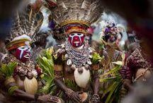 Adorned | Australia & Oceanic Region / Showcasing ethnic adornment; focus on jewellery, traditional costumes and body art. / by Monika Ettlin