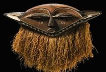 African Masks | Central Africa / African face and helmet masks as well as dance crests and headdresses.  ||  Masks from Central African countries.  I have also included masks from Angola and Northern Zambia on this board. / by Monika Ettlin