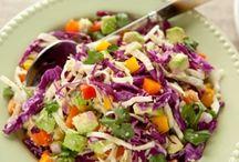 Fresh Salads / by Joyce Howe