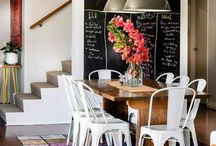Project Breakfast Nook / Ideas for our new breakfast nook! / by RobbieLee