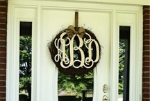 Monogrammed Decor / Boutique Quality & Affordable / by Cordial Lee
