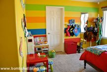 Playroom/kid's rooms / by Melissa Forbes
