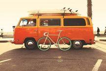 Cars / Beautiful old cars like vw beetle, t2 , Porsche, alfa, mini coopers  / by Jeroen Beks