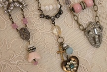 Vintage Jewelry Creations / neat creations made from old jewelry / by Rachelle