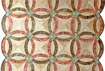 Wedding Ring Series  / Visit, http://www.quiltworx.com/, to find all patterns in the Wedding Ring Series. To be taken directly back to a specific pattern page on Quiltworx.com, simply click on any of the images below.  / by Quiltworx Judy Niemeyer