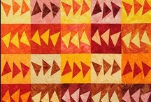 Hoffman Crackers / For more information about the Hoffman Crackers pattern, visit https://www.quiltworx.com/patterns/hoffman-crackers/. To be taken directly back to this pattern page on Quiltworx.com, simply click on any of the images below.  / by Quiltworx Judy Niemeyer
