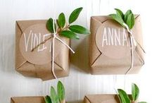 Gift Wrapping & Packaging Ideas / by Nicki Reno-Welt