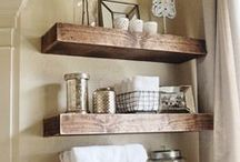Home- Bathroom / by Kelly {Eclectic Momsense}
