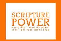 Scriptures / by Penne Baker