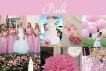 Pink Wedding Ideas and Inspiration / Everything about the pink wedding theme just screams romance. This collection of pink ideas is full of ways to make your wedding unique. Get inspired! / by Exclusively Weddings