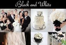 Black and White Wedding Ideas & Inspiration / Black & White weddings are very classic. Themes in this color category range from traditional to modern. Decoration possibilities are endless...take a peak below for some inspiring designs & ideas. / by Exclusively Weddings