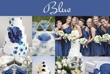 Blue Wedding Ideas and Inspiration / Blue themed weddings may range from shades of aqua to turquoise to sapphire to navy. Planning a blue wedding requires searching for that right shade of blue, consistently. No matter what shade you do end up choosing, you can't go wrong! / by Exclusively Weddings