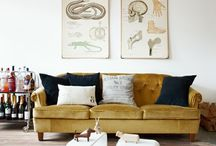 Home: Living Room / Living room, family room, home decor, sofa, tables, design / by Denise James