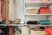 Home: Closets + Storage / Closet, storage, dressing room / by Denise James