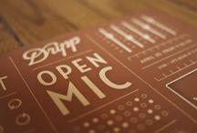 Creative: Flyers / Fliers, media, open mic ideas, promotion  / by Denise James