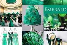 "Emerald Wedding  / Emerald is Pantone's Color of the Year for 2013.  This color exudes elegance and glamour, and is thought to ""preserve love"". Check out our Emerald board to see what's trending.  / by Exclusively Weddings"