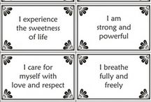 Thoughts--Affirmations / by Catherine Clark