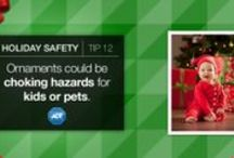 Holiday Safety Tips / Tips and tricks to keep your family and home safe during the holiday season. / by ADT