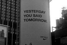 advertising / by Sean Barrett