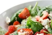 salads & dressings / by Marie-France Bourgon