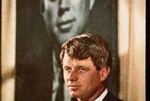 People - Bobby Kennedy / Short, but passionate, Bobby Kennedy emerged from the shadow of his brothers after the assassination of JFK.   Coming into his own right as an individual, he was cruelly cut down by an assassin's bullet in June 1968. / by Brandon Wolf