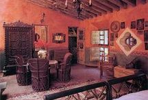 Dream Home / My compilation of beautiful styles from Santa Fe, Morocco, Spain, Italy, & Mexico / by Gerenda Johnson