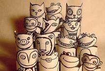 Craft Ideas Kids / by Eva Wolf