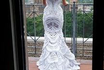 Crochet ~ Dresses ~ Maxi & Wedding / by Nina Riggs #1