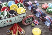 Gearing up for the Games!  / On your marks.. get set... MUNCH!  / by The Biscuiteers