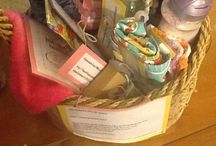 """Pinterest raffle basket / Items for a basket being raffled with the theme of """"pinterest""""  / by Angela Auer"""