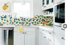 Kitchen Envy / These kitchens are cooler than mine.  / by Liz Gray