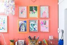 Bright Ideas / Happy colors.  / by Liz Gray